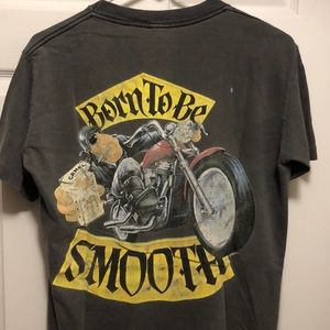 Vintage joe camel born to be smooth Marlboro tee